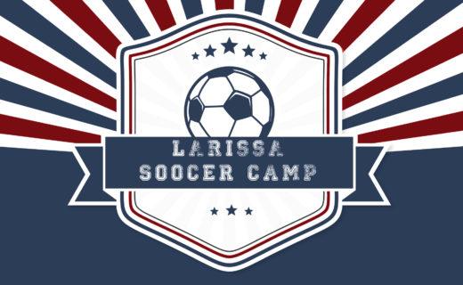 Larissa Soccer Camp Logo