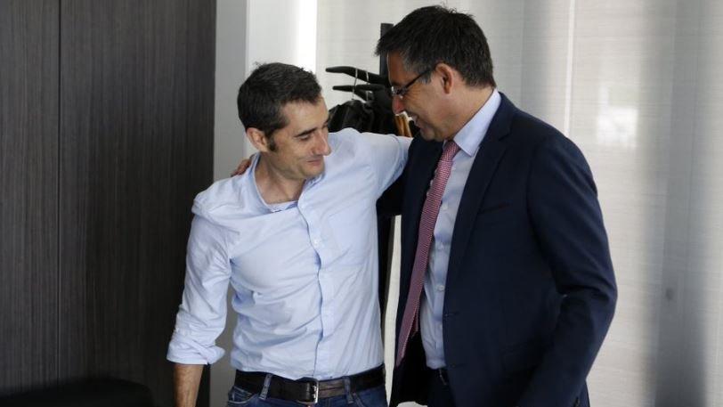 Μπαρτσελόνα και Βαλβέρδε μίλησαν για το νέο συμβόλαιο