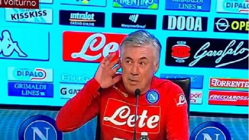 Αντσελότι για τη χειρονομία του Μουρίνιο: «Δεν σας άκουσα...»! (vid)