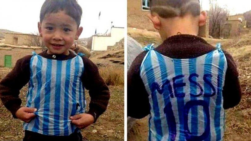 Ο μικρός Αφγανός θαυμαστής του Μέσι συγκλονίζει με το γράμμα του!