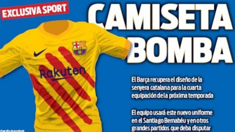 Η Μπαρτσελόνα θα παίξει του χρόνου με τη Ρεάλ με φανέλα στα χρώματα της καταλανικής σημαίας (pic)