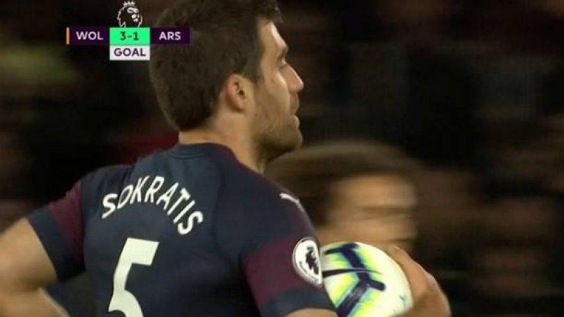 Άρσεναλ: Το πρώτο γκολ του Παπασταθόπουλου στην Premier League! (vid)