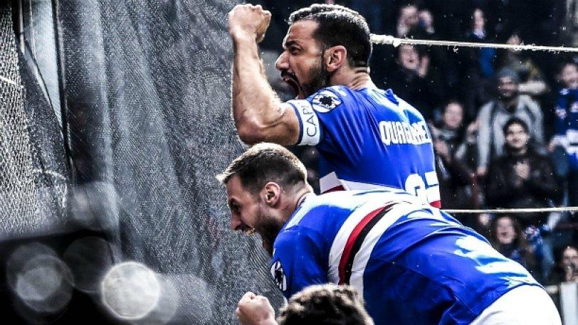 Σαμπντόρια – Τζένοα 2-0: Πήρε το ντέρμπι και... βλέπει Ευρώπη
