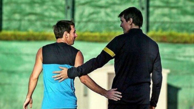 Μπαρτσελόνα: Ο Μέσι δεν ξεχνάει τον Βιλανόβα... «Πάντα μαζί μας» (pic)