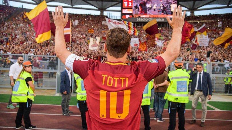 «Αντίο» από Τότι στη Ρόμα με τρομερές «μπηχτές» στη διοίκηση!