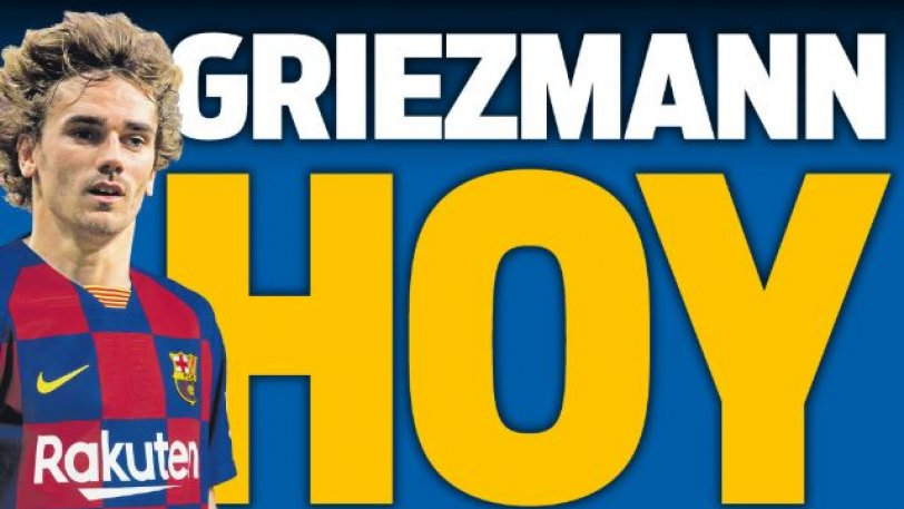 Η Sport... έντυσε ήδη τον Γκριεζμάν με τη φανέλα της Μπαρτσελόνα (pic)