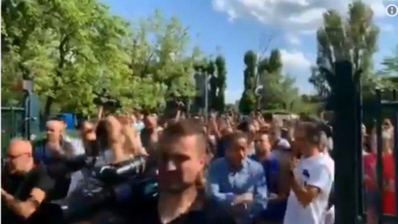 Μιχαΐλοβιτς - Μπολόνια: Στήριξη και αποθέωση από τους οπαδούς