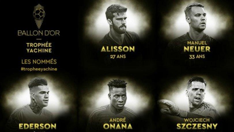 France Football: Οι υποψήφιοι για το βραβείο του καλύτερου τερματοφύλακα