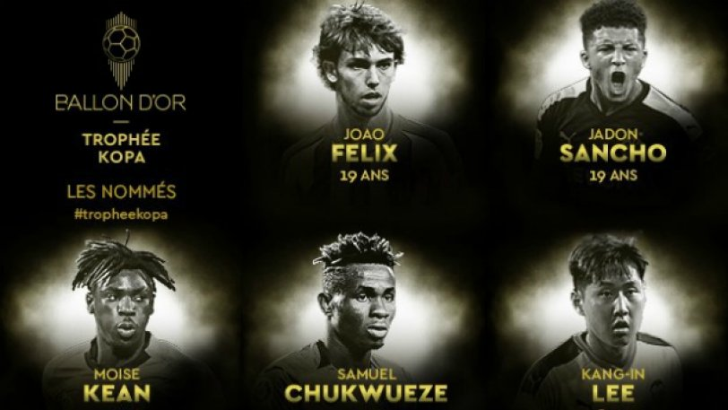 France Football: Οι υποψήφιοι για το καλύτερο ταλέντο του 2019