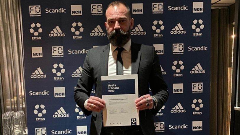 Προπονητής της χρονιάς ο Παναγόπουλος! (pic)