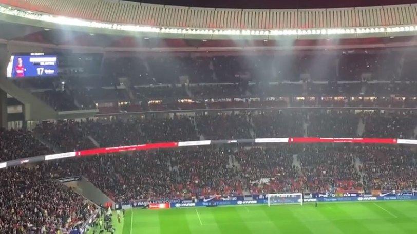Γκριεζμάν: Ακούστηκε τ' όνομά του και... σείστηκε το Wanda Metropolitano από τη γιούχα (vid)