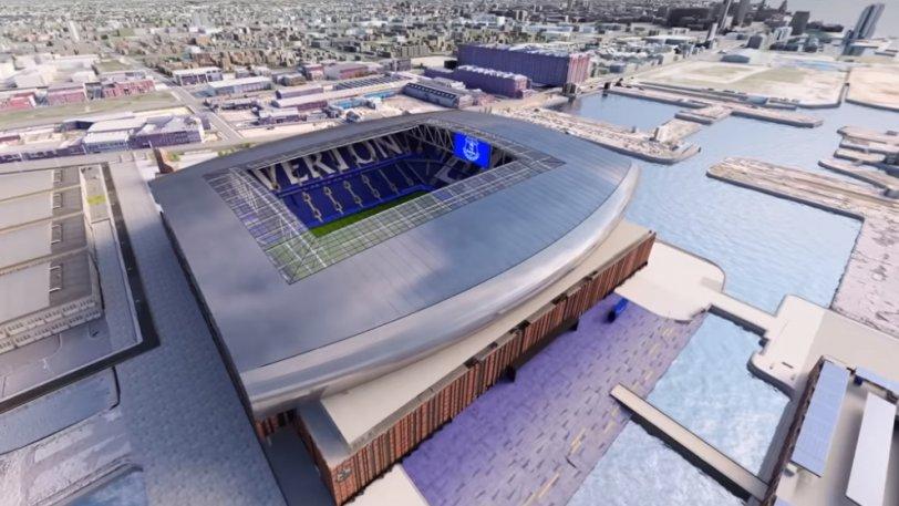 Έβερτον: Καταθέτει το τελικό σχέδιο για το νέο γήπεδο! (vid)
