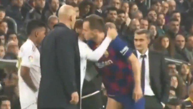 Ράκιτιτς: Έπεσε μπροστά στον Μόντριτς και... σηκώθηκε να τον φιλήσει (vid)