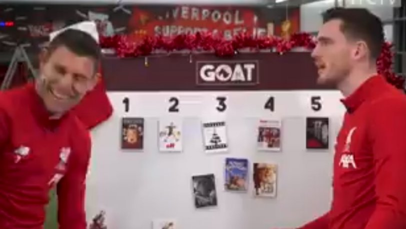 Λίβερπουλ: Μην πεις άσχημη κουβέντα για τα Χριστούγεννα στον Ρόμπερτσον... (vid)