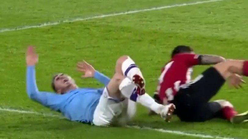 Λαπόρτ για το τάκλιν: «Κι εμένα μου έλειψες, Premier League» (vid)