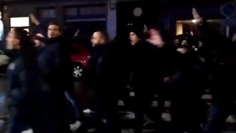 Ατλέτικο Μαδρίτης: Οπαδοί χαιρετούσαν ναζιστικά στο Εϊμπάρ... (vid)
