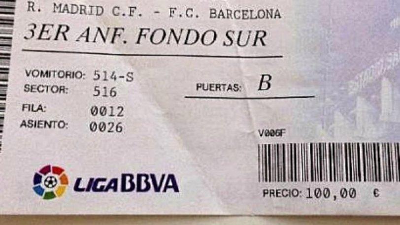 Ρεάλ Μαδρίτης – Μπαρτσελόνα: Από 95 έως 1.600 ευρώ τα εισιτήρια του Clasico