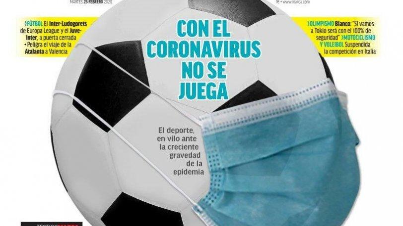 Κοροναϊός: Η Marca έβαλε... μάσκα στη μπάλα! (pic)