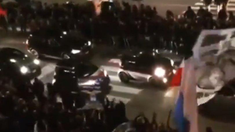 Λάτσιο: Γιόρτασαν στους δρόμους της Ρώμης οι οπαδοί! (vid)