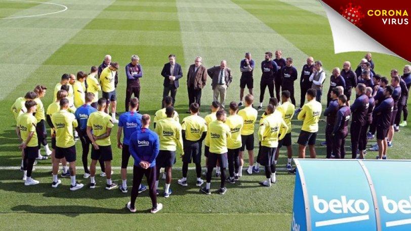 Κορονοϊός: Περικοπή 30% για όλη την σεζόν αντιπροτείνουν οι παίκτες της Μπαρτσελόνα
