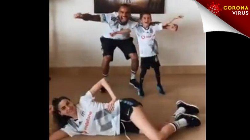 #Μένουμεσπίτι: Η οικογένεια Μπόατενγκ παίζει και Champions League! (vid)