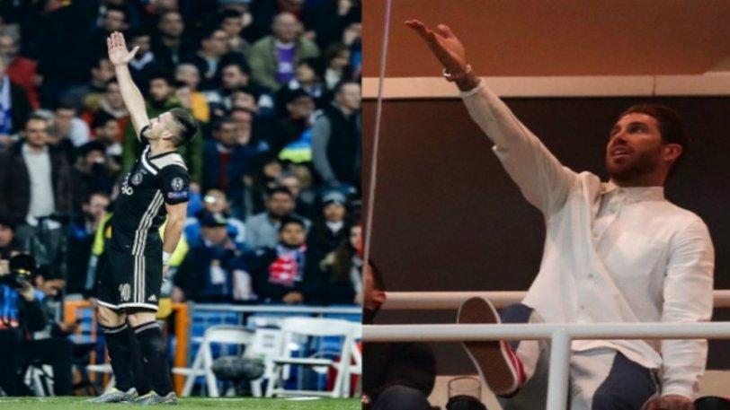Ο Ράμος απάντησε στο τρολάρισμα του Αγιαξ δείχνοντας τις κούπες του Champions League (pics & vid)